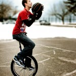 Unicycle Basketball: A great way to start the new year